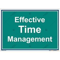 Time-Management-Frame-Display