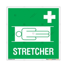 Stretcher Signs in Square