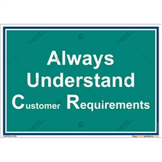 Customer-Requirements-Awareness-Posters