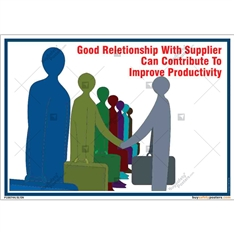Good-Supplier-Relation-shop-Office-Poster