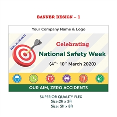 National Safety Week Banner