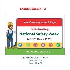 National Safety Week Awareness Banner