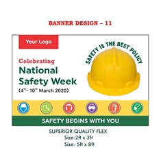 National Safety Week 2020 Awareness Banner