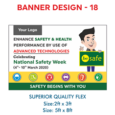 National Safety Week Display Banner